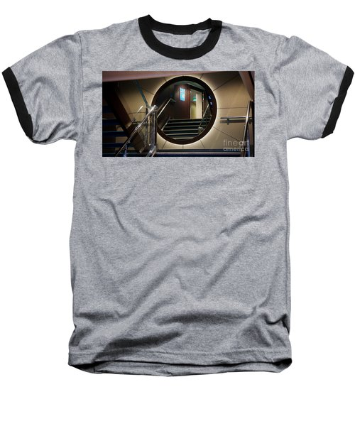 Reflection Stair Baseball T-Shirt