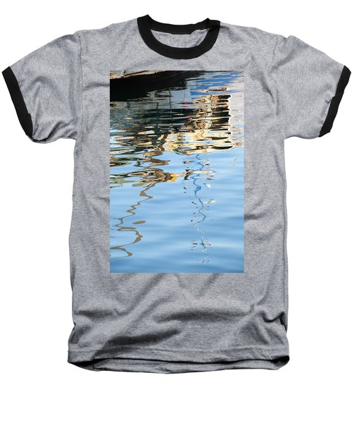 Reflections - White Baseball T-Shirt