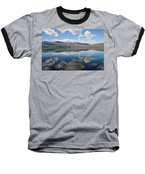 Baseball T-Shirt featuring the photograph Reflections At Glacier National Park by John M Bailey
