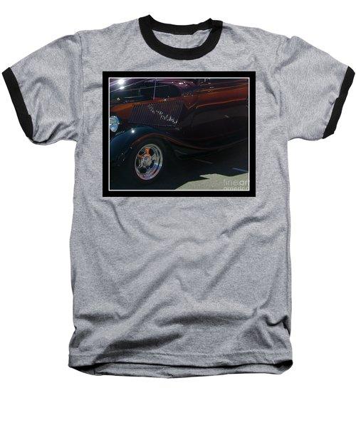 Baseball T-Shirt featuring the photograph Reflections by Bobbee Rickard