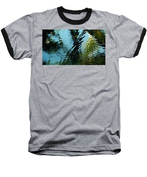 Reflections In A Fishpond Baseball T-Shirt
