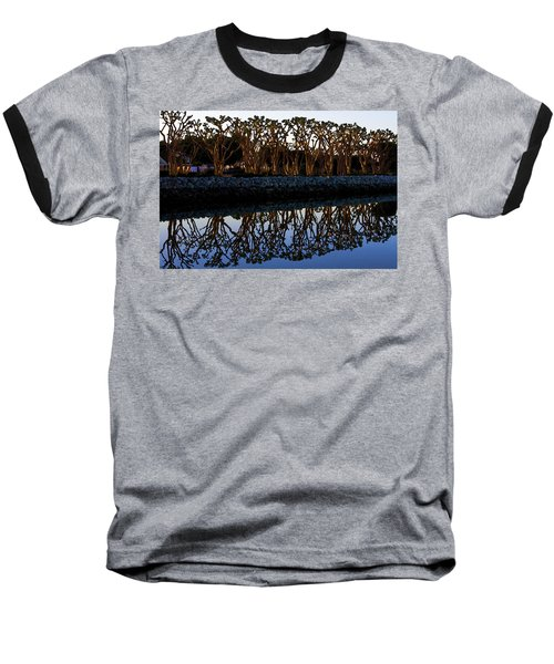 Baseball T-Shirt featuring the photograph Reflections In First Light by Gary Holmes