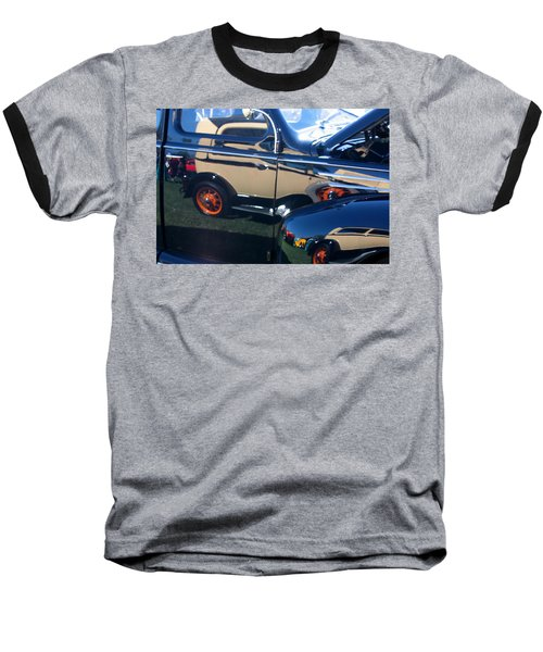 Baseball T-Shirt featuring the photograph Reflections by Joe Kozlowski