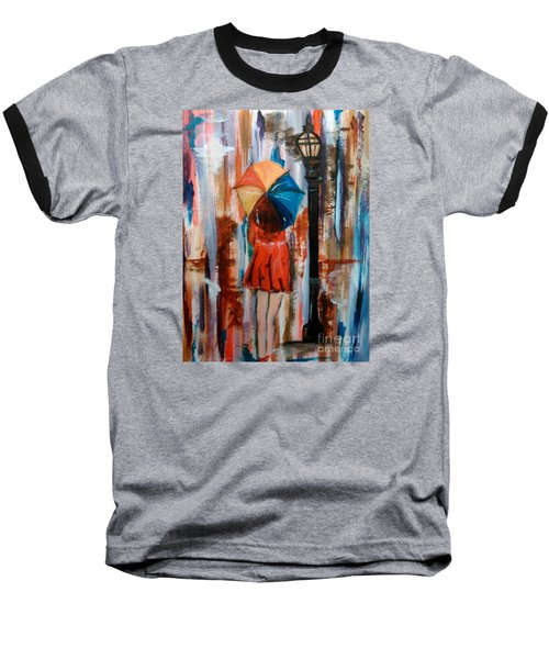 Baseball T-Shirt featuring the painting Reflections  by Lori  Lovetere