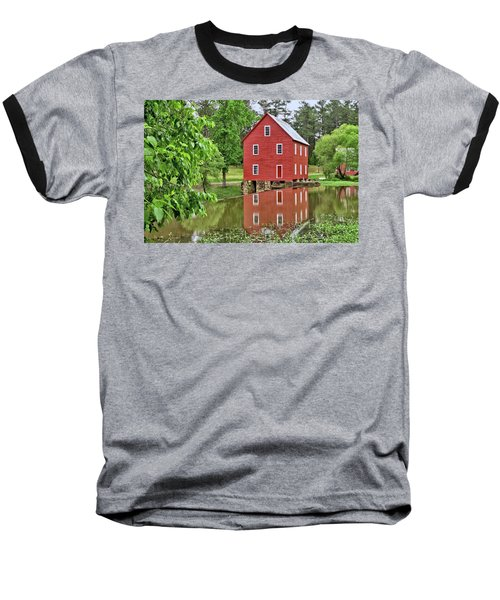 Reflections Of A Retired Grist Mill Baseball T-Shirt