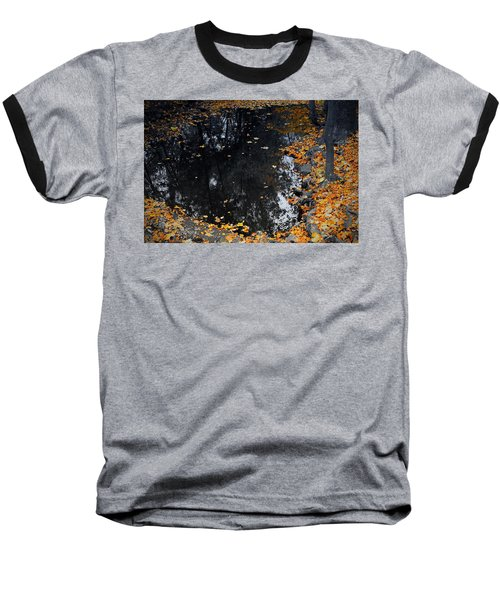 Baseball T-Shirt featuring the photograph Reflections Of Autumn by Photographic Arts And Design Studio