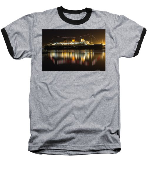 Reflections Of Queen Mary Baseball T-Shirt