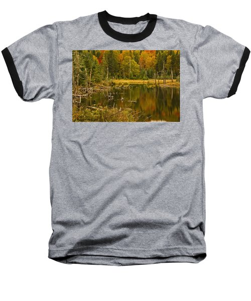 Reflections Of The Fall Baseball T-Shirt