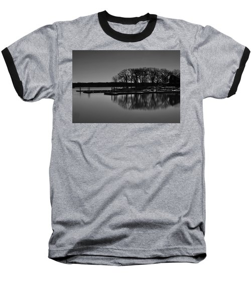 Baseball T-Shirt featuring the photograph Reflections Of Water by Miguel Winterpacht