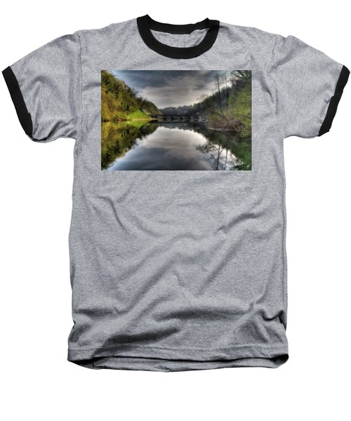 Reflections On Adda River Baseball T-Shirt