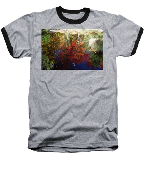 Baseball T-Shirt featuring the photograph Reflections On Algonquin by David Porteus