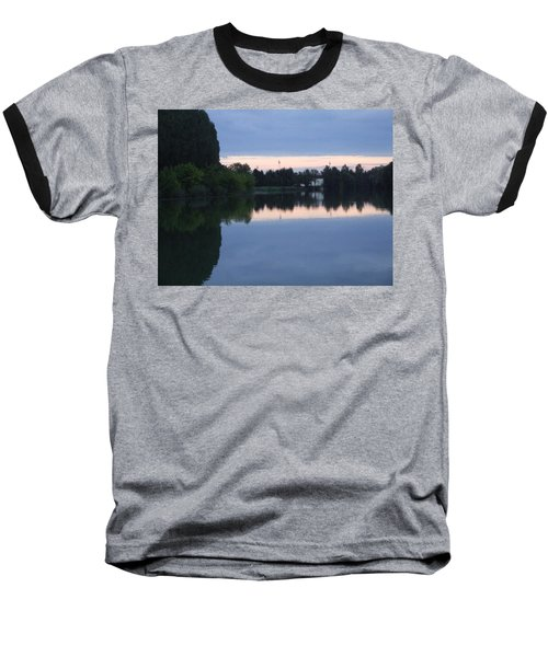 Reflections On La Saone Baseball T-Shirt