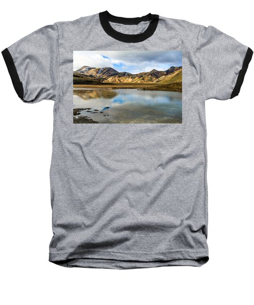Reflections On Landmannalaugar Baseball T-Shirt