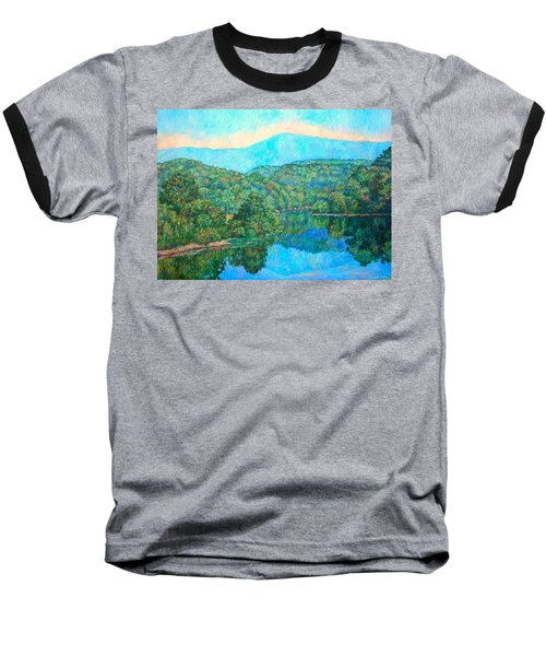 Reflections On The James River Baseball T-Shirt