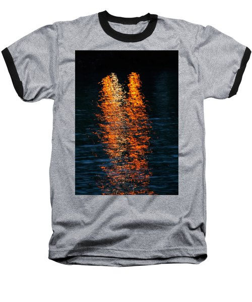 Reflections Baseball T-Shirt by Pamela Walton