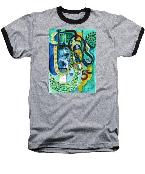 Reflective #5 Baseball T-Shirt