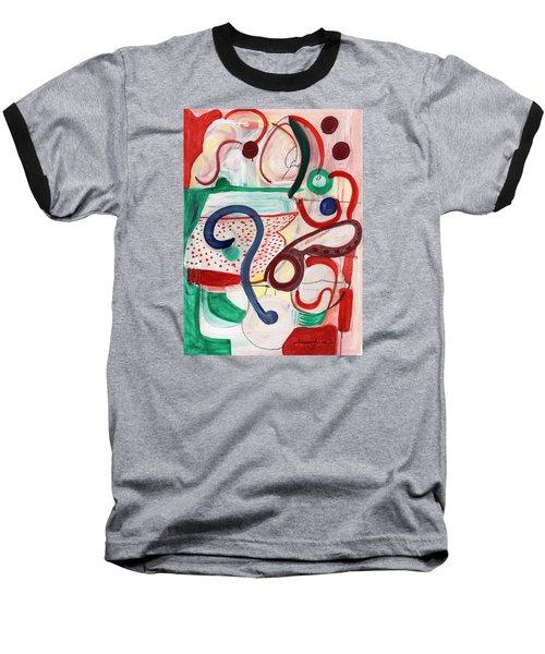 Reflective #6 Baseball T-Shirt