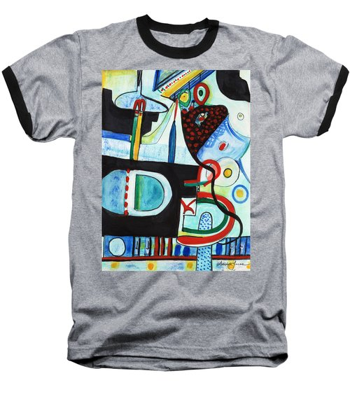 Reflective #7 Baseball T-Shirt