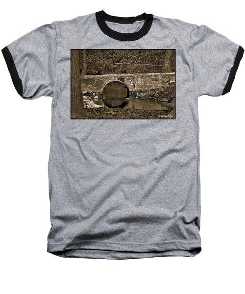 Baseball T-Shirt featuring the photograph Reflective Bridge by Tara Potts