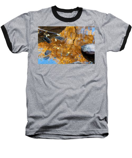 Baseball T-Shirt featuring the photograph The Melting Pot by Jim Garrison