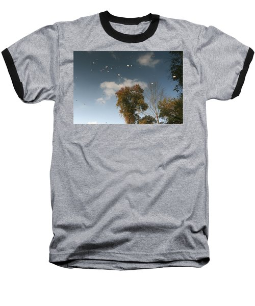 Reflective Thoughts  Baseball T-Shirt by Neal Eslinger