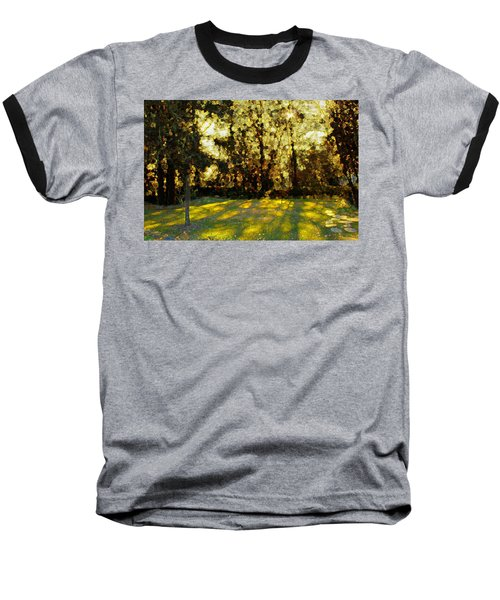 Refrectory Baseball T-Shirt by Terence Morrissey