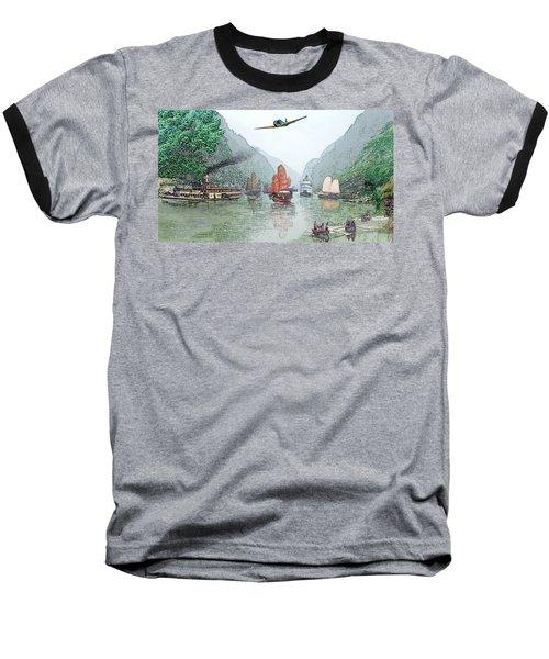 Refugees On The Yangtze Baseball T-Shirt