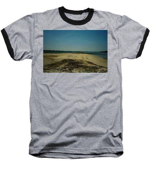 Baseball T-Shirt featuring the photograph Rehoboth Bay Beach by Amazing Photographs AKA Christian Wilson