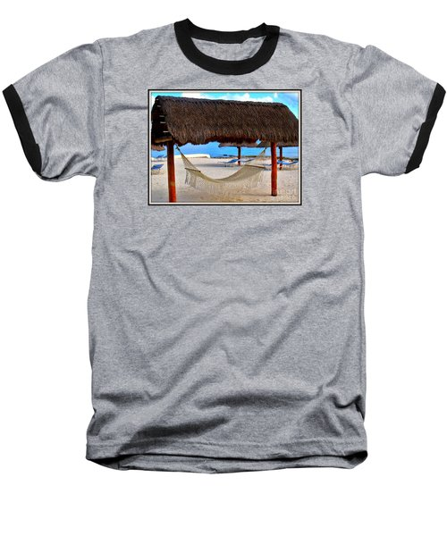 Baseball T-Shirt featuring the photograph Relaxation Defined by Patti Whitten