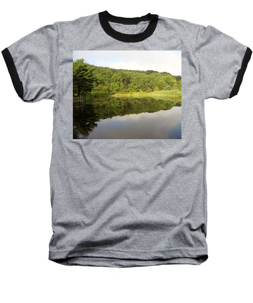 Baseball T-Shirt featuring the photograph Relaxation by Michael Porchik