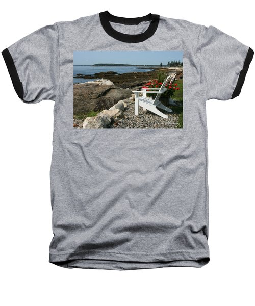 Baseball T-Shirt featuring the photograph Relaxing Afternoon by Mariarosa Rockefeller