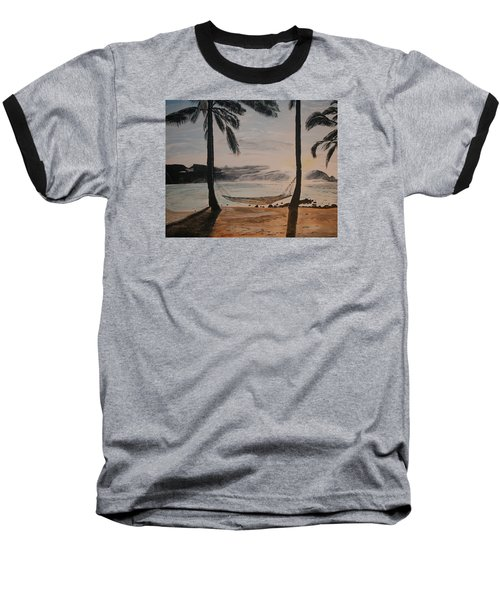 Relaxing At The Beach Baseball T-Shirt