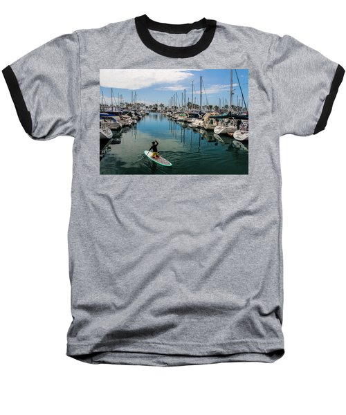 Baseball T-Shirt featuring the photograph Relaxing Day by Tammy Espino