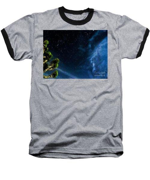 Releasing The Stars Baseball T-Shirt by Angela J Wright