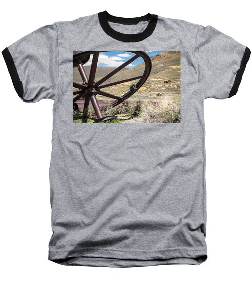 Baseball T-Shirt featuring the photograph Relics Of Bodie by Steven Bateson