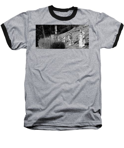 Religious Statues Baseball T-Shirt