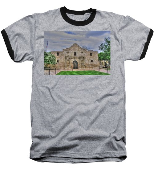 Remember The Alamo Baseball T-Shirt