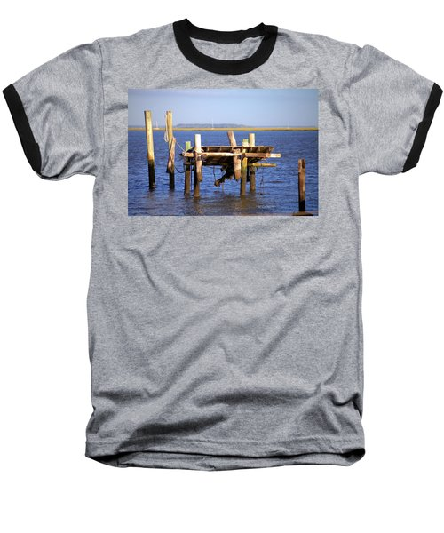 Baseball T-Shirt featuring the photograph Remnants by Gordon Elwell