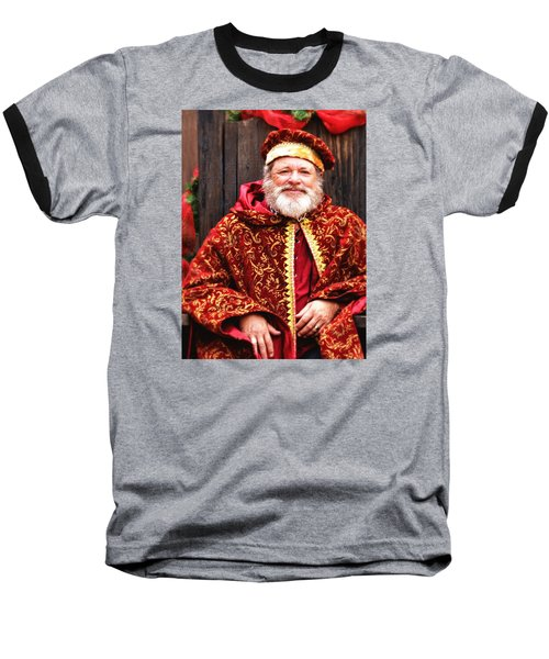 Baseball T-Shirt featuring the photograph Renaissance St Nicholas by Nadalyn Larsen