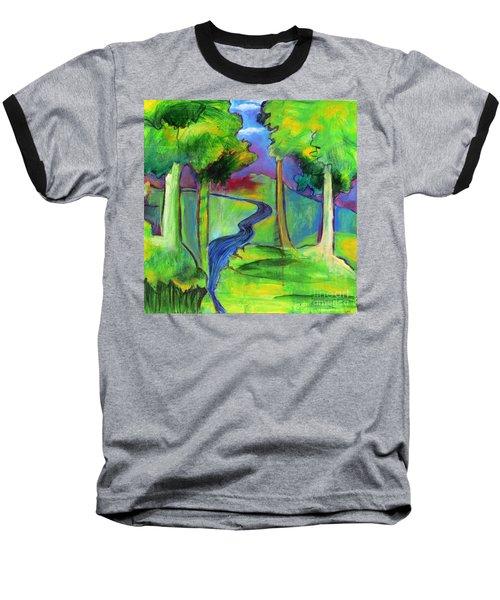 Rendezvous Triptych Baseball T-Shirt
