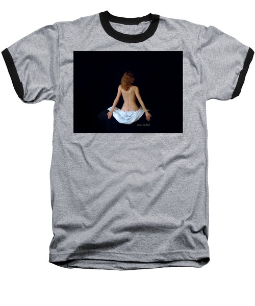 Rennaisance Woman Baseball T-Shirt by Donna Blackhall