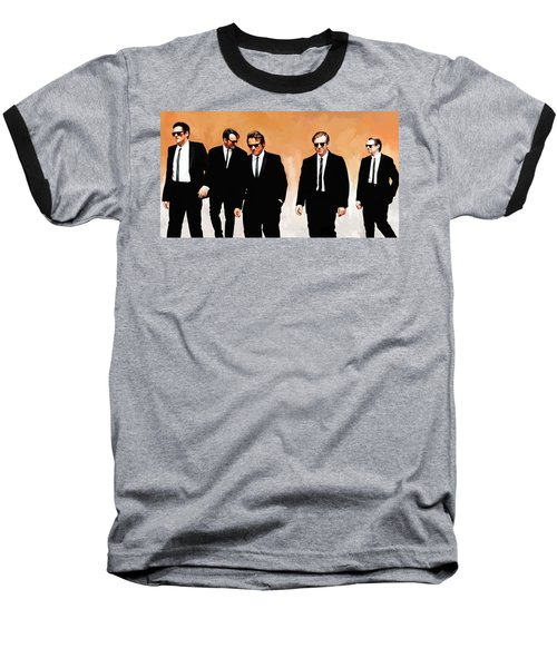 Reservoir Dogs Movie Artwork 1 Baseball T-Shirt