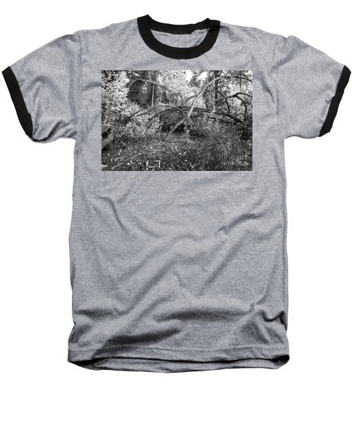 Baseball T-Shirt featuring the photograph Tropical Shade by Roselynne Broussard