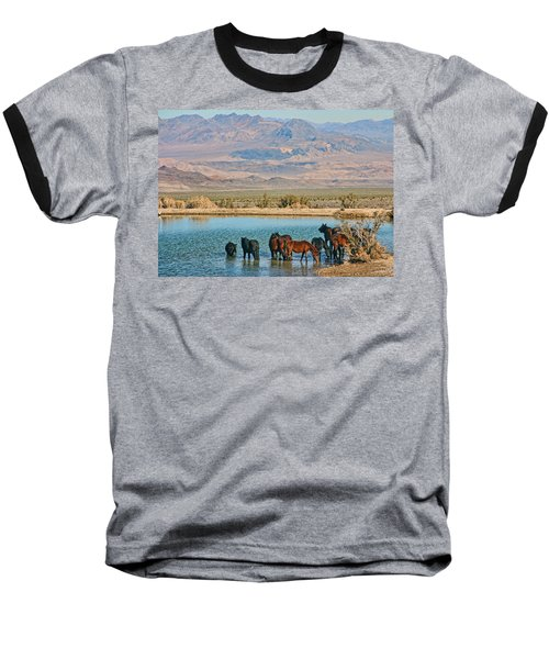 Baseball T-Shirt featuring the photograph Rest Stop by Tammy Espino