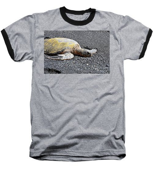 Baseball T-Shirt featuring the photograph Rest Time by David Lawson
