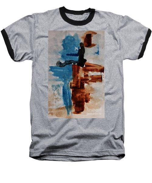 Restart Baseball T-Shirt by Andrea Anderegg