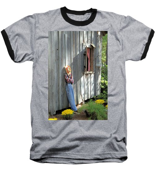 Baseball T-Shirt featuring the photograph Resting by Gordon Elwell