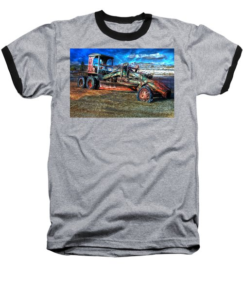 Retired Caterpillar Baseball T-Shirt