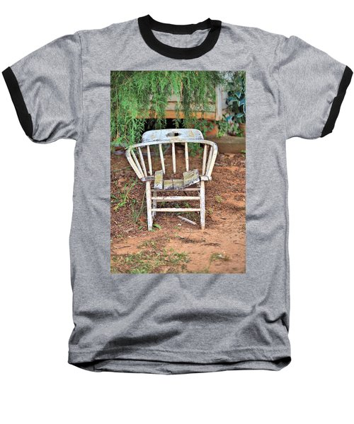 Baseball T-Shirt featuring the photograph Retired by Gordon Elwell