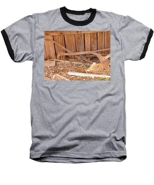 Baseball T-Shirt featuring the photograph Retired Tools by Nick Kirby